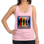 Most Disabilities Are Invisible Racerback Tank Top