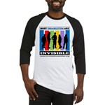 Most Disabilities Are Invisible Baseball Jersey