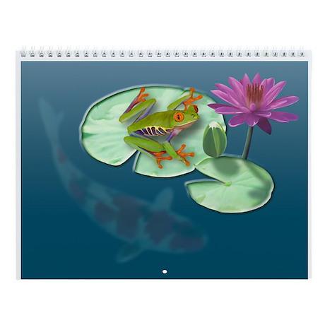 Watergarden Wall Calendar