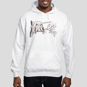 Twin Peaks Owls Hooded Sweatshirt