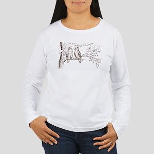 Twin Peaks Owls Women's Long Sleeve T-Shirt