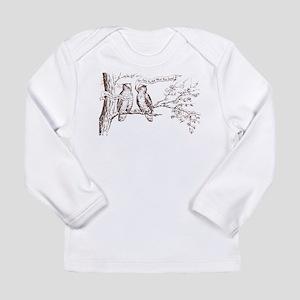 Twin Peaks Owls Long Sleeve Infant T-Shirt