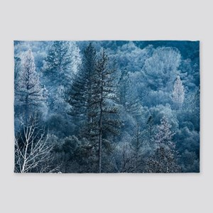 Moonlight Forest 5'x7'Area Rug