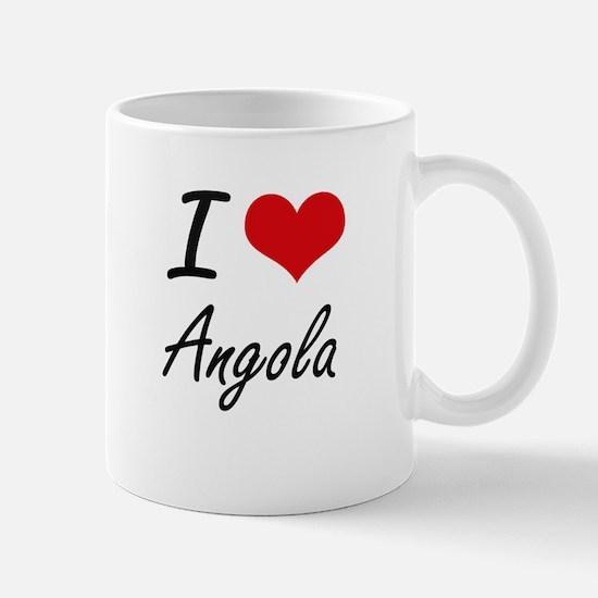 I Love Angola Artistic Design Mugs