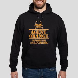 Agent Orange Hoodie (dark)