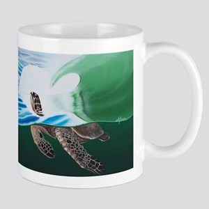Green Sea Turtle Mugs