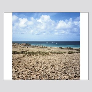 Aruba Ocean View Small Poster