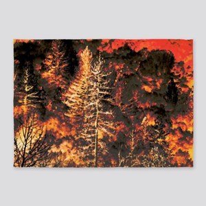Wildfire! 5'x7'Area Rug