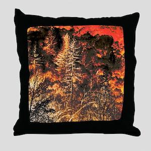Wildfire! Throw Pillow