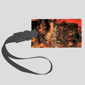 Wildfire! Large Luggage Tag