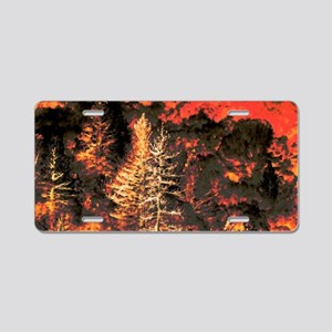 Wildfire! Aluminum License Plate