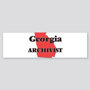 Georgia Archivist Bumper Sticker