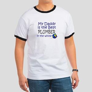 Best Plumber In The World (Daddy) Ringer T