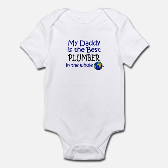 Best Plumber In The World (Daddy) Infant Bodysuit