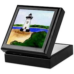 Edgartown Lighthouse Keepsake Box