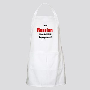 i am russian Apron