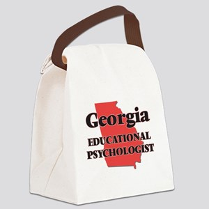 Georgia Educational Psychologist Canvas Lunch Bag