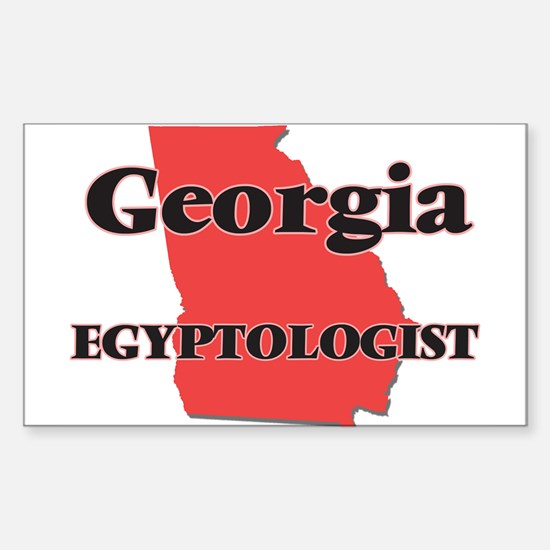Georgia Egyptologist Decal