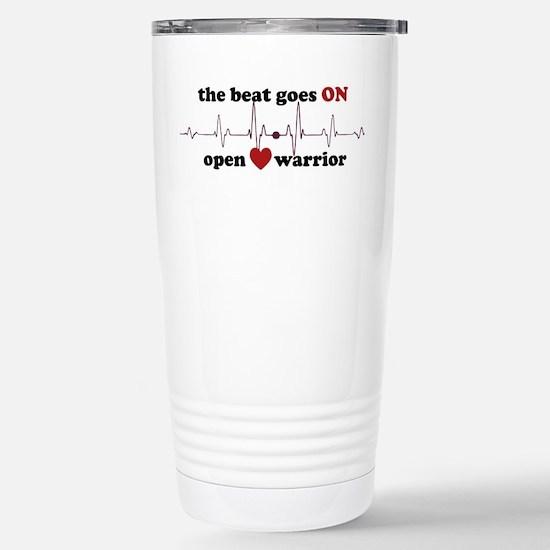 Open heart warrior Stainless Steel Travel Mug