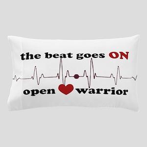 Open heart warrior Pillow Case