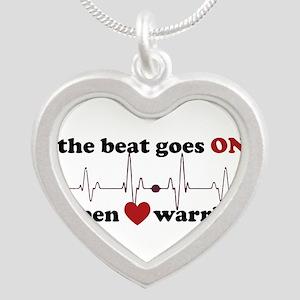 Open heart warrior Necklaces