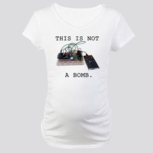 This is not a bomb. Maternity T-Shirt