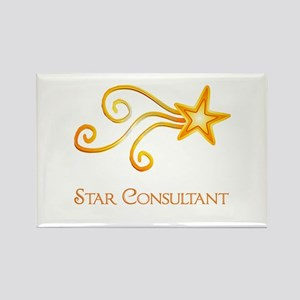 Star Consultant Rectangle Magnet