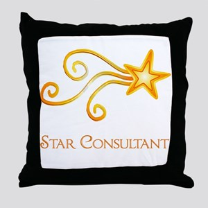 Star Consultant Throw Pillow