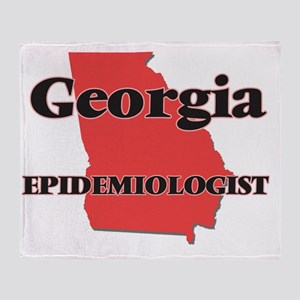 Georgia Epidemiologist Throw Blanket