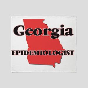 Georgia Epidemiologist Throw Blanket