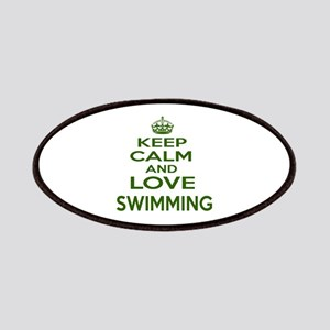 Keep calm and love Swimming Patch