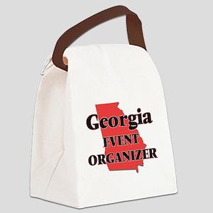 Georgia Event Organizer Canvas Lunch Bag