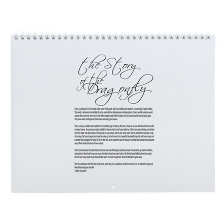 The Dragonfly Story Wall Calendar