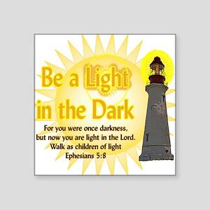 Light in the dark Sticker