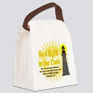 Light in the dark Canvas Lunch Bag