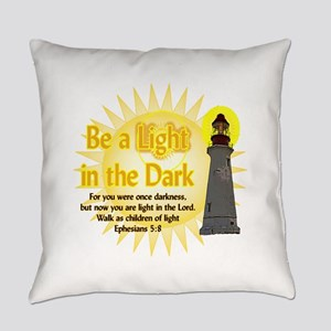 Light in the dark Everyday Pillow