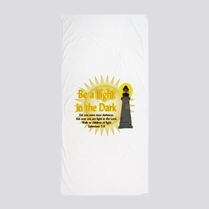Light in the dark Beach Towel