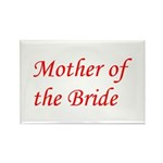 Mother of the Bride Rectangle Magnet (10 pack)
