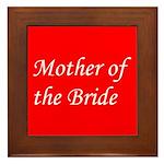 Mother of the Bride Framed Tile