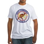 USS CANBERRA Fitted T-Shirt