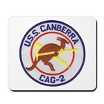 USS CANBERRA Mousepad