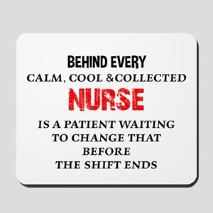 Nurse Humor Mousepad