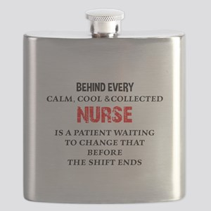Nurse Humor Flask