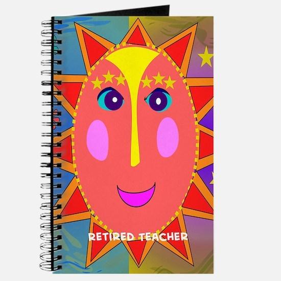 retired teacher all over sun moon Journal