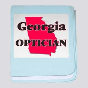 Georgia Optician baby blanket