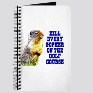 Kill Every Gopher on the Golf Journal