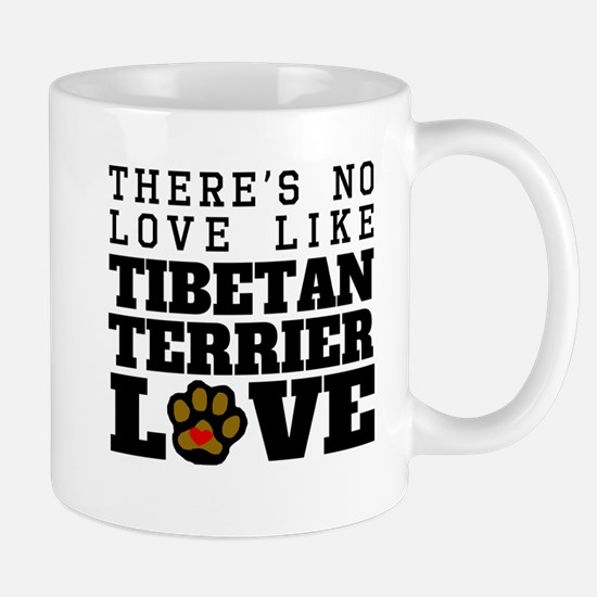 Tibetan Terrier Love Mugs