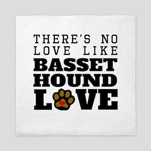 Basset Hound Love Queen Duvet