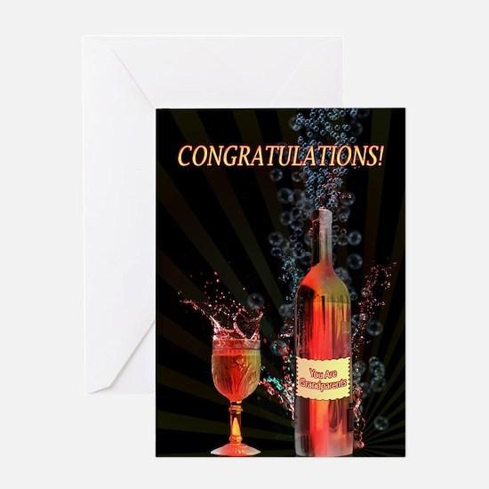 You are grandparents congratulations with splashin