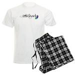 Michael Script + Feather Men's Light Pajamas